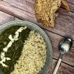 saag paneer palak paneer recipe with jeera rice